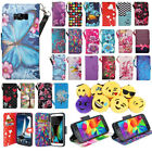 For Samsung Galaxy S8 Plus Phone Case Hybrid PU Leather Wallet Pouch Flip Cover