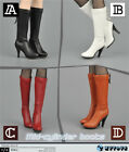 ZY16-27 1/6 action figure toys The cartridge zipper female boots