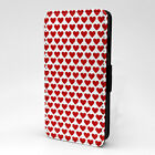 Hearts Print Design Pattern Flip Case Cover For Apple iPod - P1230