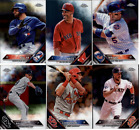 2016 Topps Chrome Baseball - Base Set Cards and RC's - Pick From Card #'s 1-200