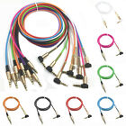 3.5mm Male to Male Right Angle Car Aux Auxiliary Stereo Audio Cable For Phone PC