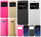 For Samsung Galaxy S8 / S8 PLUS Premium Side Flip Protector Phone Case Cover
