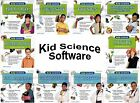 Kid Science Fun at Home Software Age 9+ PC Windows XP Vista 7 8 10 Sealed New