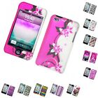 For Ipod Touch 4th Generation Hard Phone Case Design Rubberized Snap-on Cover