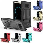 For Samsung Galaxy S8 Plus - Hybrid Future Armor Hard Case Cover With Kickstand