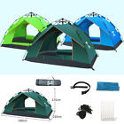 Automatic Easy Pitch Tent Outdoor Waterproof Portable Camping Backpacking 3-4