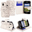 Phone Case Cover For Samsung Galaxy Ace S5830 GT-S 5839i PU Leather Wallet Flip
