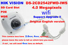 Hikvision English DS-2CD2542FWD-IWS 4MP IP POE camera security CCTV 2.8/4mm wifi
