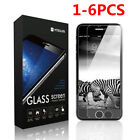 6Pcs Tempered Glass Protective Screen Protector Film for Apple iPhone 6/7/7 Plus