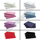 100% COTTON JERSEY STRETCHY EASY CARE FITTED BED SHEET PINK BLUE CREAM WHITE