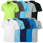 Island Green Mens 2019 Golf IGTS1648 Performance Coolpass Polo Shirt 44% OFF RRP