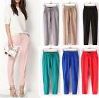 2017 New Fashion Summer Women OL Loose Pants Long Trousers Casual