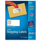 Avery Shipping Labels with TrueBlock Technology 2 x 4 White 250 Pack PK AOI NEW