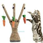 Внешний вид - Pet Cat Kitten Scratching Post Interactive Toys Scratcher Sisal Rope Climbing