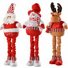 Free Standing Santa, Snowman, Reindeer Christmas Decoration with Extendable Legs