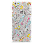 UV Printed TPU Case Floral Summer Water Color Paisley