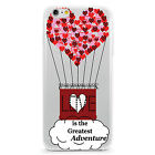 UV Printed TPU Case Quote Love is the Greatest Adventure