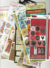 U CHOOSE  ASSORTED CARD STOCK FLAT Stickers Reminisce Paper House Daisyd's etc.