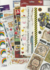 U CHOOSE  ASORTED FLAT Stickers Sandylion Colorbok Beary Patch Hambly Glitz ETC.