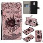 KT Magnetic PU Leather Folio Stand Smart Case Cover Wallet For Phones Castle