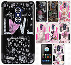 For ZTE ZMAX PRO HYBRID KICK STAND Rubber Case Phone Cover Accessory