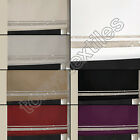 LUXURY DIAMANTE SPARKLE ROLLER BLIND SILVER RED PURPLE WHITE CREAM BLACK BEIGE