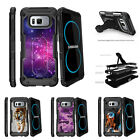 For Samsung Galaxy S8 G950 (2017) Clip Stand Case Heavenly Stars