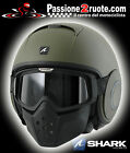 Helmet Shark Raw Verde matt Green matt