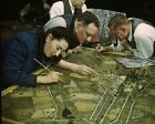 Camouflage class at New York University during WWII 1943 Photo Print