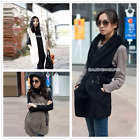 New Women Faux Fur Vest Outerwear Winter Warm Coat Jacket Waistcoats