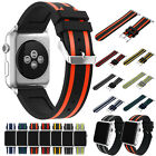 Sport Soft Silicone Watch Band Bracelet Strap For Apple Watch series 1/2 38/42mm