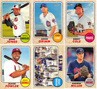 2017 Topps Heritage Baseball - Base Set Cards - Pick From Card #'s 1-250