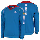 adidas Herren Russland Sweatshirt X-Cross-Country Sweater Pullover blau-rot