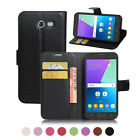 Flip Magnetic Card Wallet Leather Case Cover For Samsung Galaxy J3 Emerge 2017