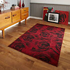 Think Rugs Art Twist T132 Hand Carved Rug