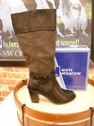 White Mountain Sapphire BLACK Ankle Strap Dress Boots New
