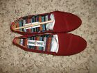NEW MINNETONKA Flats Loafers Moccasins size 6 Red Black or Navy