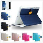 Tough Protective Magnetic Clasp Cover Sheild Smart Case For Apple iPad Mini Air