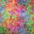Dragonfly Batik, Rainbow of Multicolors, Cotton for Quilting & Apparel