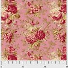 SAVANNAH CLASSIC ROSE MAIN PINK P&B QUILT SEWING FABRIC *Free Oz Post
