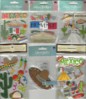 U CHOOSE  Assorted Jolee's Recollections MEXICO travel 3D Stickers sombrero