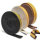 5M P-type Foam Draught Self Adhesive Window Door Excluder Seal Strip Rubber Seal