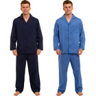 Mens Traditional Long Sleeve Mens Two-Piece Pyjama Set Sleep Wear Lounge Night S