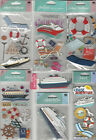U CHOOSE Assorted Jolee's Sandylion Stand-outs CRUISE 3D Stickers beach travel