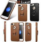 Hot ICARER 100% Genuine Leather Fashion Hard Back Case cover For iPhone 7 7 Plus