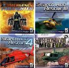Rescue Action 1st Responder Simulation Games Assortment PC Windows Sealed New