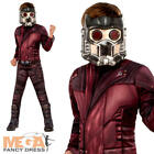 Deluxe Star Lord Boys Costume Peter Quill Guardians Galaxy Childs Fancy Dress