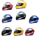 ABS Anti-smashing Anti-fog Mirror Helmet Full Face Racing Motorcycle Scooter JQ