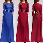 Fashion Women Formal Evening Party Cocktail Wedding Bridesmaid Long Prom Dresses