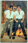 Bollywood Actor Hunk - Akshay Kumar - Sunil Shetty Rare Old Post card Postcard